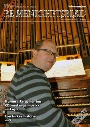 Nr. 6 2012 - Re kirkelige fellesråd - Den norske kirke
