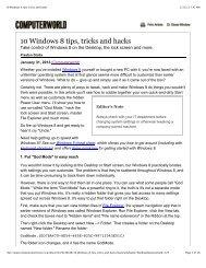 10 Windows 8 tips, tricks and hacks