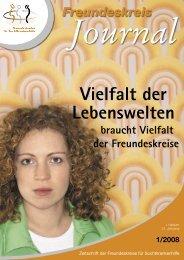 Ausgabe 1-2008 - Freundeskreise für Suchtkrankenhilfe
