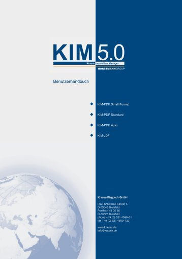 KIM PDF - Bearbeiten der Druckbogen - Krause Imposition Manager