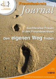 Ausgabe 1-2010 - Freundeskreise für Suchtkrankenhilfe
