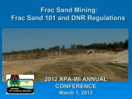 Frac Sand Frac Sand Mining - American Planning Association ...