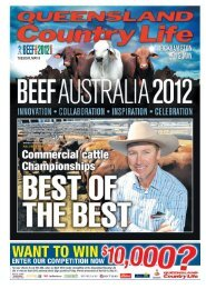 TUESDAY, MAY 8 - Queensland Country Life