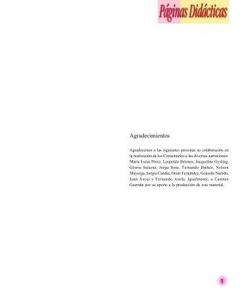 Narraciones pedagógicas 5 - Sector Lenguaje y Comunicación