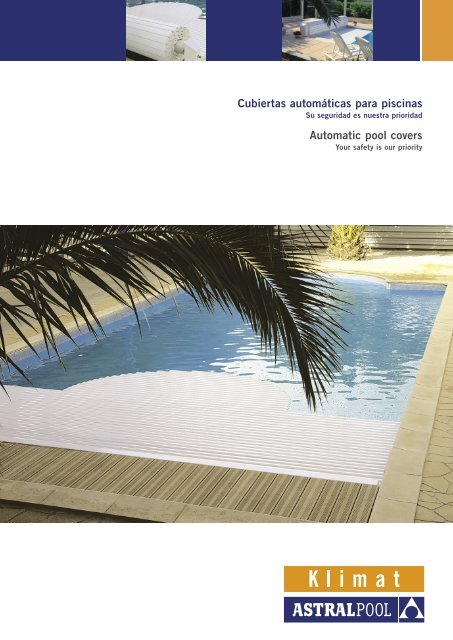 Automatic pool covers - James White Pools