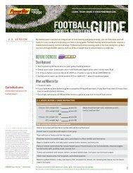 Football - PowerBar.Com