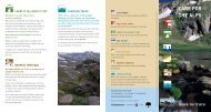 Care for the Alps - Leave no trace - Australian Alps National Parks