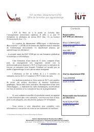 dut-stid-alternance-2009-2010 - Département d'information médicale