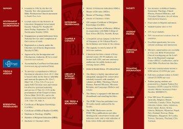 FEBC Profile - Far Eastern Bible College