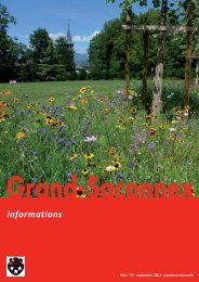 n° 23 - Grand-Saconnex informations septembre 2011