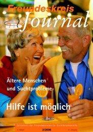 Journal 2/2006 - Freundeskreise für Suchtkrankenhilfe