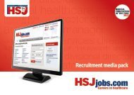 Download Recruitment Media Pack - Health Service Journal
