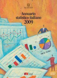 Annuario statistico italiano 2009 - Cultura in Cifre - Istat