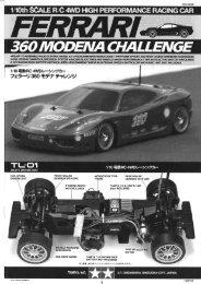 Tamiya TL-01 Manual.pdf - Wheelsacademy.info