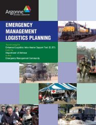 Emergency management logistics planning - Decision and ...