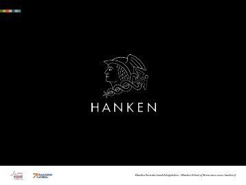 Hanken Svenska handelshögskolan / Hanken School of Economics ...