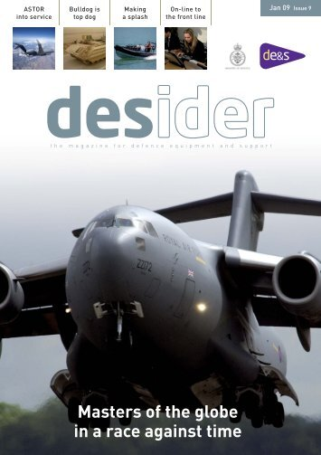 Issue 9 Jan 2009.indd - Ministry of Defence