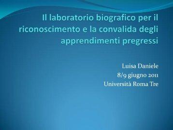 Daniele_Lichtner.slide - Scienze della Formazione