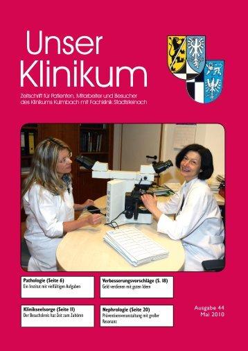 Seelsorge an der Fachklinik Stadtsteinach - Klinikum Kulmbach