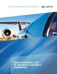 NBAA Personal Use of Business Aircraft Handbook, Updated May ...