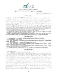 Gyvybės draudimo UAB ,,BONUM PUBLICUM ... - I-Manager