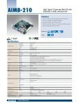 Mini-ITX Motherboards - Fortec AG - Page 5