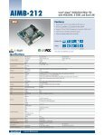 Mini-ITX Motherboards - Fortec AG - Page 7