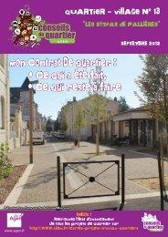 Journal du Quartier-village 13 - Ville d'Agen