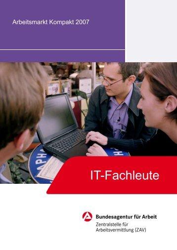 AM-Kompakt-IT-Fachleute von der Bundesagentur für Arbeit