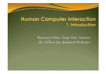 Introduction - CAIG Lab
