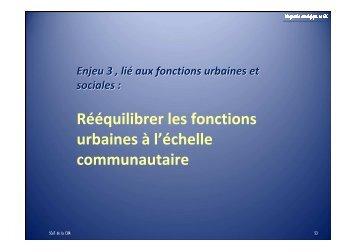 Reequilibrer les fonctions urbaines - Alençon