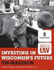 uW-MADIson - Academic Planning and Institutional Research