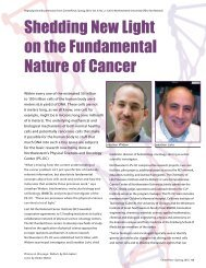 Shedding New Light on the Fundamental Nature of Cancer