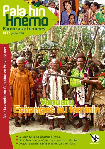 Vanuatu Echanges au féminin Vanuatu Echanges ... - Province Nord