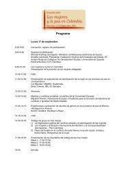 Inscripción, registro de participantes