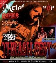 Das ganze Special lesen - Metal Mirror