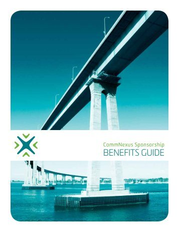 Sponsorship Benefits - CommNexus San Diego