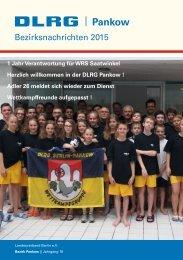Bezirkszeitung DLRG-Pankow 2015