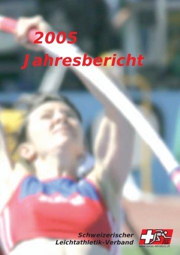 Jahresbericht 2005 - Swiss Athletics