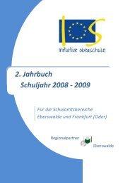 2. Jahrbuch Schuljahr 2008 - 2009 - Berufsbildungsverein Eberswalde