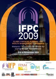 Malaysia – International Centre for Islamic Wealth Management 9 ...