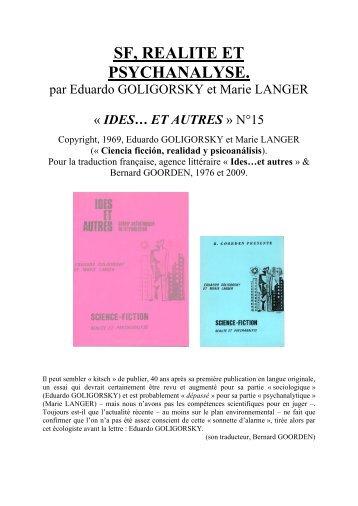 IEA15 GOLIGORSKY - IDES et Autres