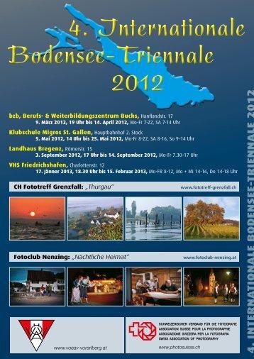 4. Internationale Bodensee-Triennale 2012 4. Internationale ...