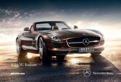 SLS AMG Roadster - Mercedes-Benz México