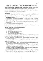 navodilo za izpolnjevanje zahtevka za hišno carinjenje pri izvozu