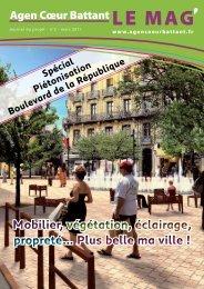 Journal de projet n°3 - Ville d'Agen