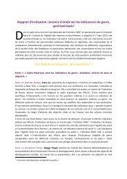 rapport de la journee _22mars_x - Le Monde selon les femmes