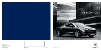 RCZ conv Price List - Peugeot