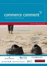 Commerce Comment December 2009/January 2010
