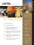 January 2011 • Vol. 72, no. 1 - Bradley Arant Boult Cummings LLP - Page 2